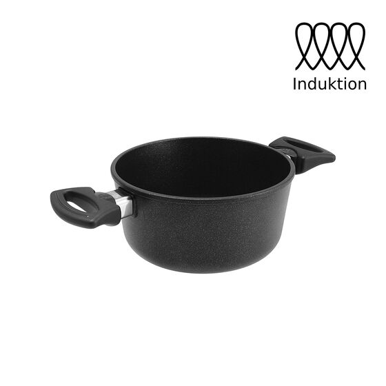 TREND Royal Aluguss Bratentopf TR720i, Ø 20 cm, 10 cm hoch - Induktion geeignet | Made in Germany
